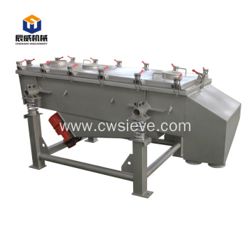 high efficiency linear coconut charcoal sifter